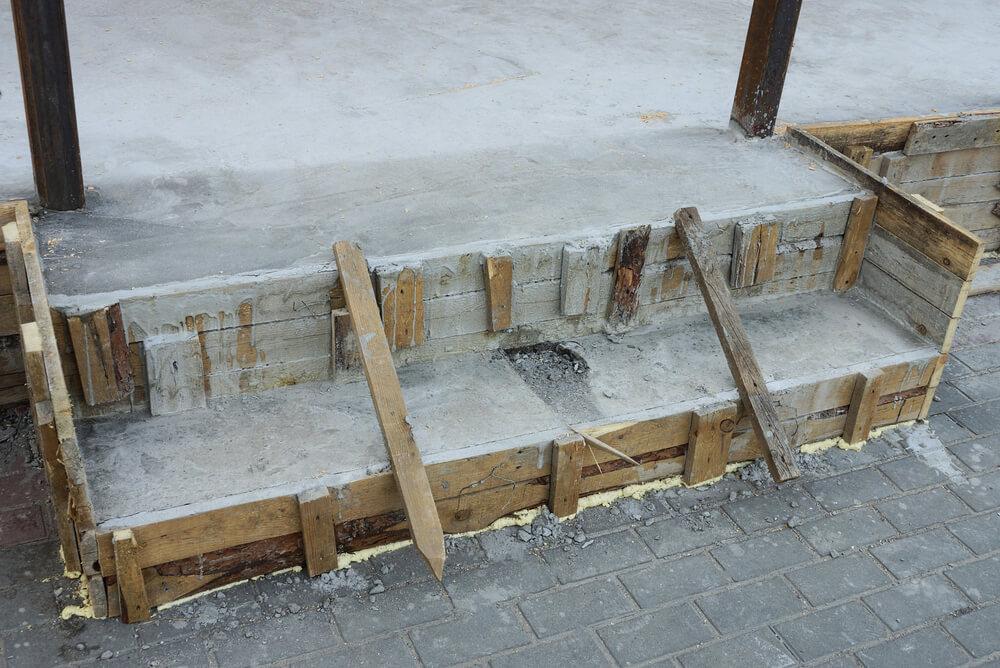 Betónové schody šalovanie Bratislava Môj murár